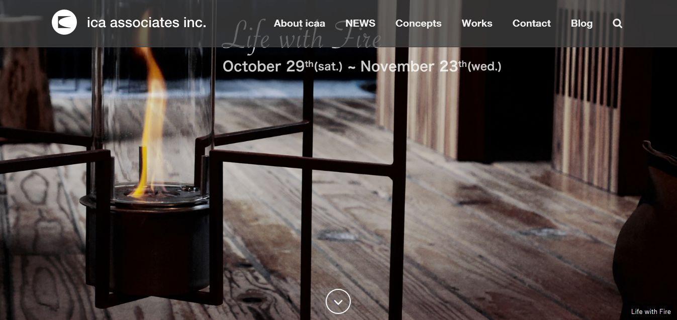 株式会社 アイシーエー・アソシエィツのホームページ