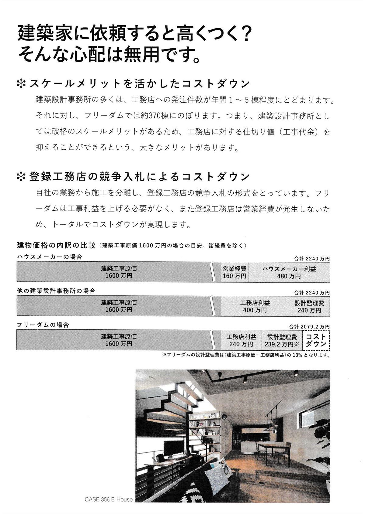 フリーダムアーキテクツデザインの価格_R